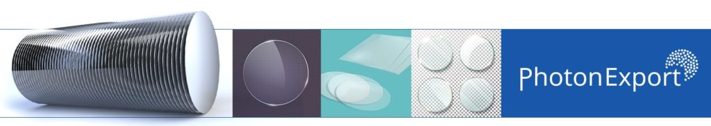 Substrates: Technical glass, Quartz, Silicon Wafers